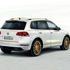 Volkswagen Touareg Gold Edition