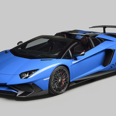 The Aventador Superveloce Roadster will have a limited production of 500 units