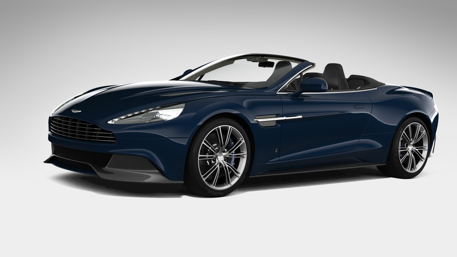 The Neiman Marcus Vanquish Volante is inspired by a DB6 Volante