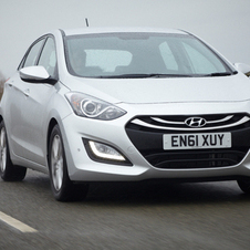 In addition to its 5 Star rating, the i30 got a 90% in the 'child occupant' safety category