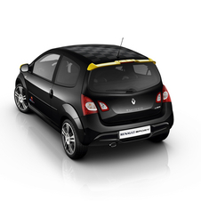 The engine is the same Twingo RS unit with 133hp