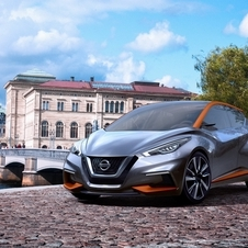 According to Nissan the Sway concept is 4010mm long, 1780mm wide and 1385mm high