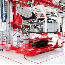 Tesla operates is a factory prevoiusly co-owned by Toyota and General Motors
