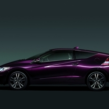 The CR-Z's new violet color
