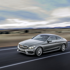 At launch the engine range of the new C-Class Coupé will include four petrol engines and two diesel