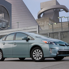 The Prius Plug-In gets 95mpge