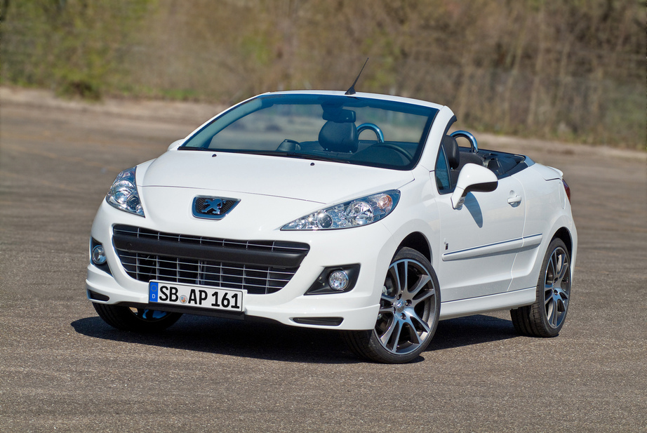 peugeot 207 cc 1 6 hdi se 200 years 1 photo and 63 specs. Black Bedroom Furniture Sets. Home Design Ideas