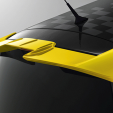 The contrasting yellow spoiler is one of the changes for the RB7