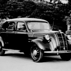 The 1936 AA Sedan was the company's first passenger car