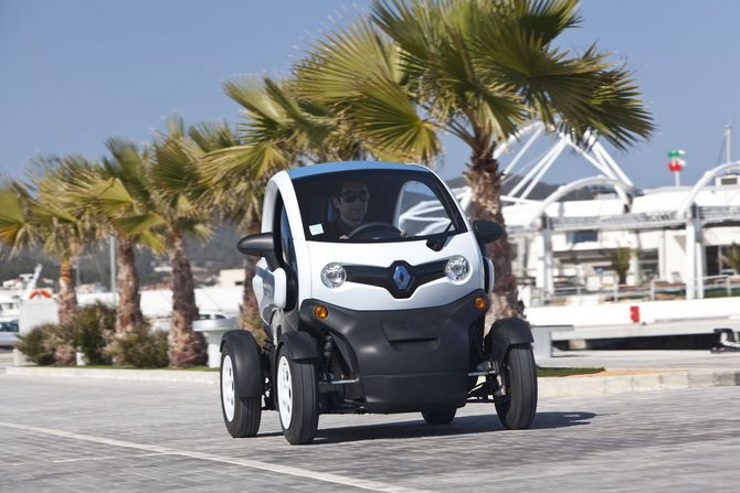 Renault Twizy Intens Blue