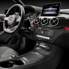 Inside the new B-Class receives the latest security technologies and equipment