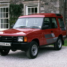 The original Land Rover was launched in 1989