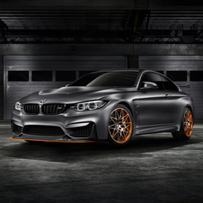 The M4 GTS includes BMW's innovative water-injection system