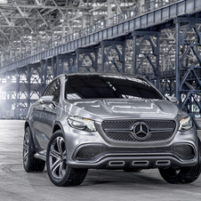 The Concept Coupé SUV is based on the M-Class and was conceived as a future rival of the BMW X6