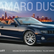 The Camaro Dusk is inspired by the night and is available as a coupe and convertible