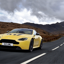 The V12 Vantage S will get its US debut as well