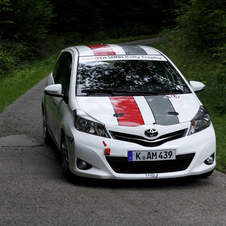 Toyota is prepping a WRC version of the Yaris for testing