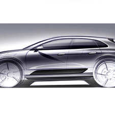 The Macan will go on sale in 2014 and be revealed at the Los Angeles Auto Show in November