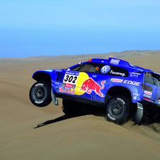 2013 Dakar Rally Running From Peru to Chile