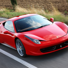 Ferrari defends its leadership position in the supercar segment with the 458