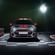The car will use a higher performance version of the Mini's engine