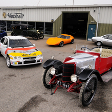 The center has a wide range of vehicles from concepts to pre-war classics to race cars