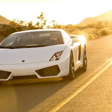 Just as Lamborghini with its Gallardo