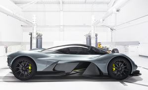 With market launch expected for 2018, the AM-001 RB will be produced at the Aston Martin factory in Gaydon, UK