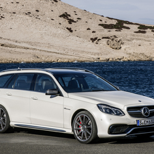 The E63 will be available as both sedan and estate
