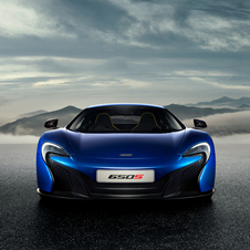 McLaren 650S will be available in Coupé and Spider bodystyles