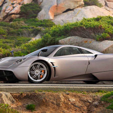 The Huayra is Pagani's new top model featuring active aerodynamics
