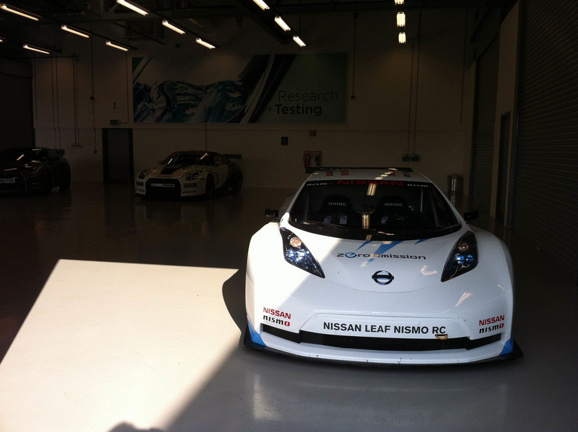 If you weren't 'in the know' you might think the Nissan Leaf RC was a normal racing car, and a quick one at that.
