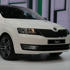 Skoda Rapid Hatchback premiers in Paris