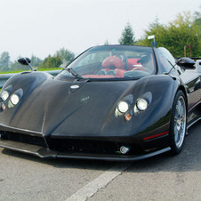 And the Zonda F Roadster takes the roof off of the Zonda F