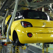 The assembly line received a €190 million upgrade to build the car