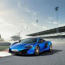 The design is inspired by the McLaren P1, previewing a new family design language