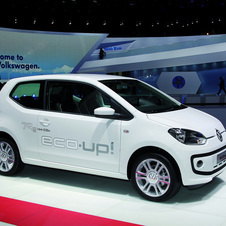 Volkswagen Eco Up Uses Natural Gas to Emit 79g/km of CO2