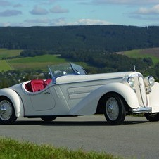 The 1935 Audi Front Roadster is the oldest car in the voting