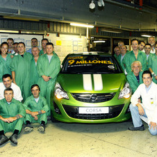 GM's Spainish Plant Produces 9 Millionth Corsa