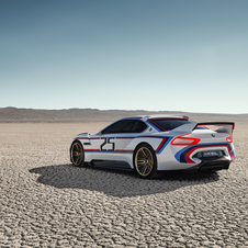 The BMW 3.0 CSL Hommage R is intended to show how close the driver and the car will be able to be in the future
