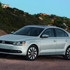 The Jetta Hybrid will go on sale in April