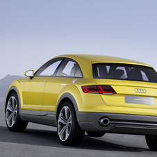 In terms of performance the Audi TT offroad can accelerate from 0 to 100km/h in 5.2 seconds and reach a limited top speed of 250km/h