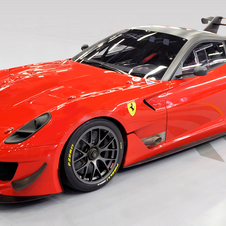 The 599XX is a track-only race car based on the 599
