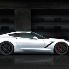 The car will go on sale at the same time as the standard C7 Corvette