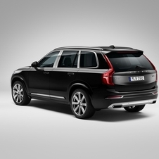 the XC90 Excellence can be recognized through small styling touches, including chrome trim elements