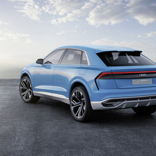 The launch of the new SUV flagship is scheduled for 2018