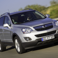 Opel Antara 2.4 AWD AT