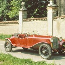 The 1500SS was based on the 6C 1500 and was built from 1925-1929