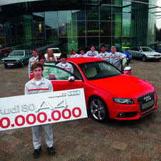 Audi Produces 10 Millionth Midsize Car