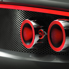 The taillights are made from 3D less